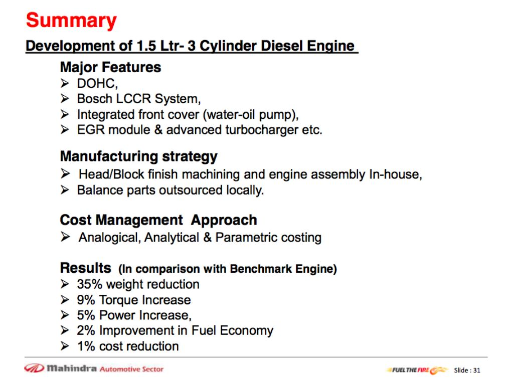 Compact Xylo Engine Summary