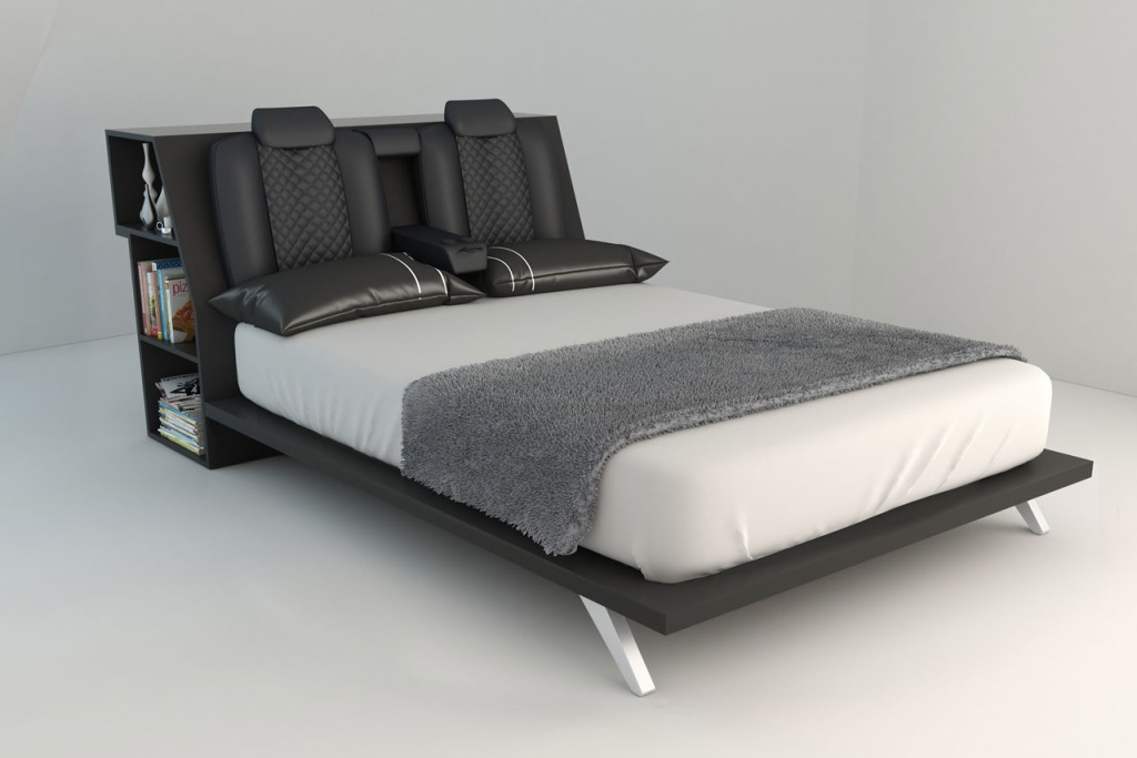 Consolatio Car Bed Leather Seats Headboard
