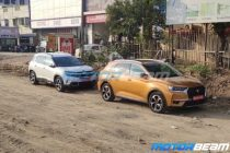 DS 7 Crossback Spied