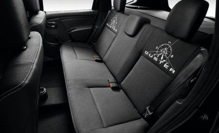 Dacia Duster Adventure rear seats