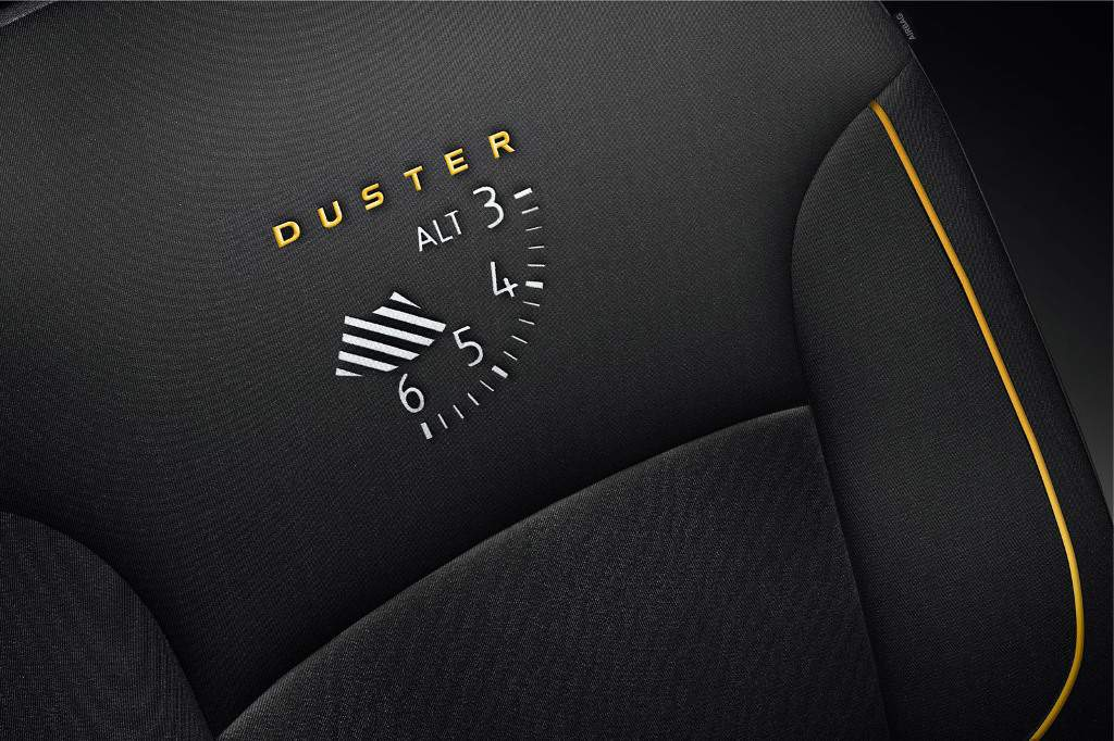 Dacia Duster Air Edition Seat Cover