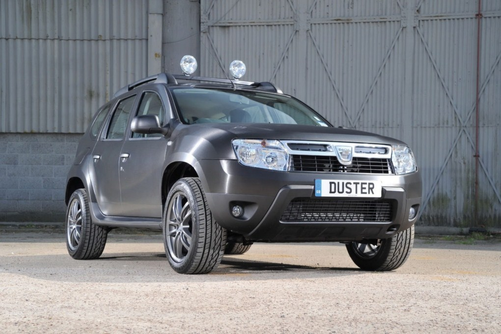 Dacia Duster Black Edition Front