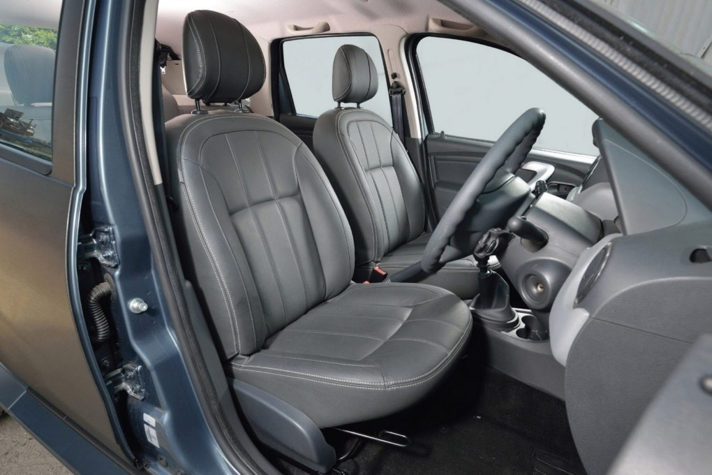 Dacia Duster Black Edition Interiors