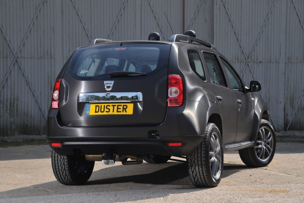 Dacia Duster Black Edition Rear