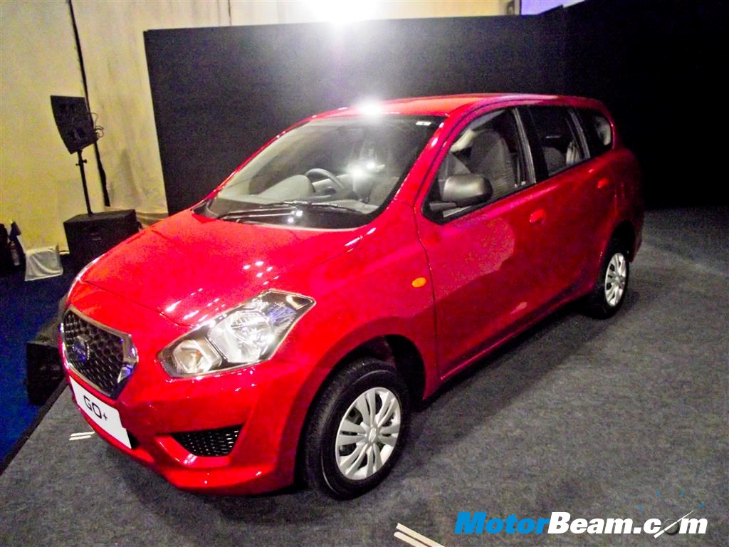 Datsun GO+ Launched In India