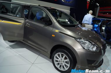 Datsun GO+ Playstation Edition Showcased At Auto Expo [Live]
