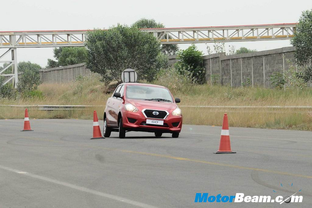 Datsun GO Test Track Experience