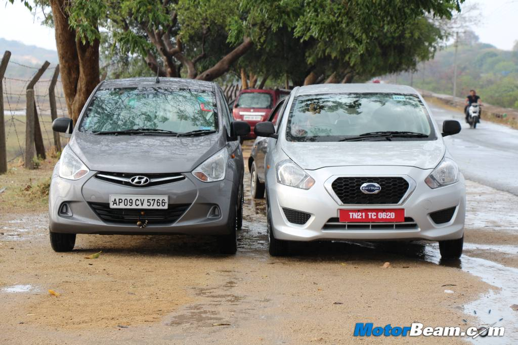 Datsun GO vs Hyundai Eon Review