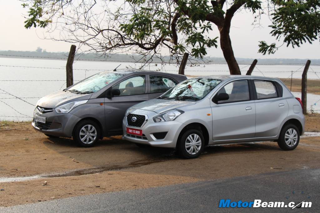 Datsun GO vs Hyundai Eon Road Test