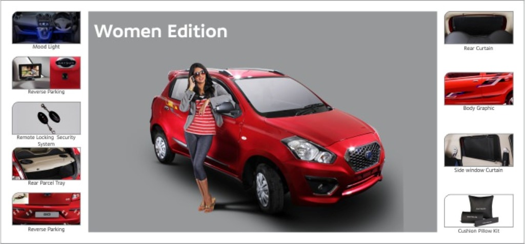 Datsun Go Women Edition
