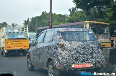 Datsun Redi-GO Caught In Final Testing Phase Ahead Of Auto Expo Reveal