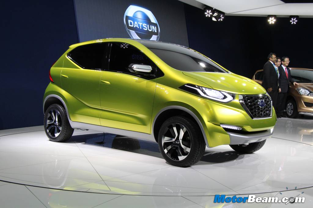 Datsun redi-GO Auto Expo India