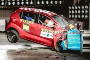 Datsun redi-GO Crash Test