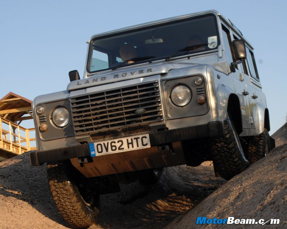 Defender Off-Road Experience