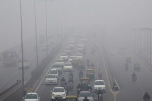 Delhi Air Pollution Smog