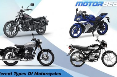 Different Types Of Motorcycles