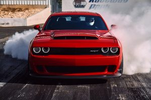 Dodge Challenger SRT Demon Burnout