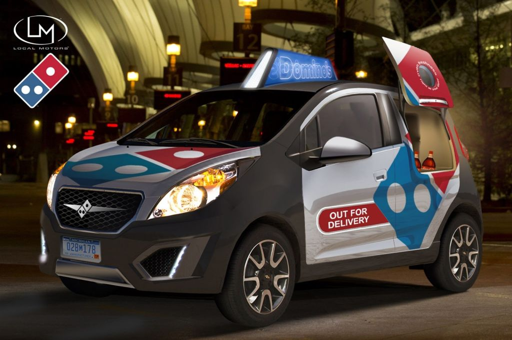 Domino's Pizza Delivery Vehicle