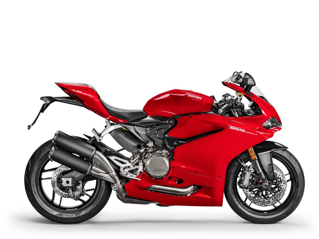 Ducati 959 Panigale Exhaust