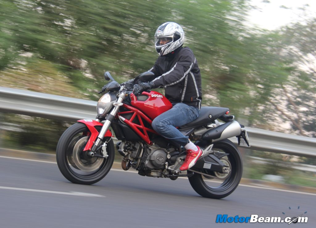 Ducati Monster 795 Road Test