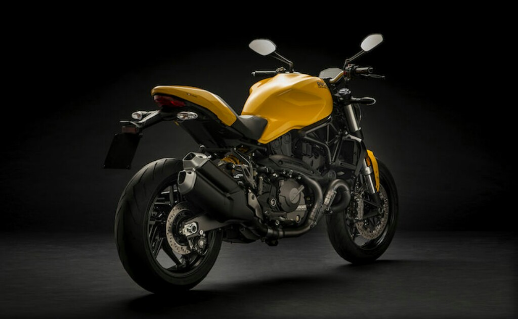Ducati Monster 821 Rear