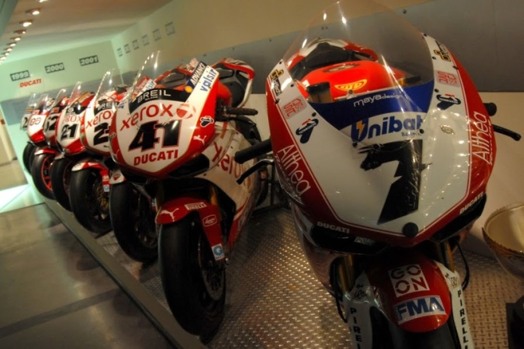 Ducati Museum Virtual Tour World Superbikes