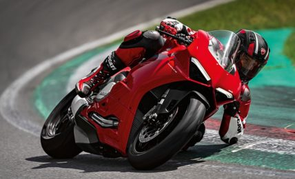 Ducati Panigale V2 Action