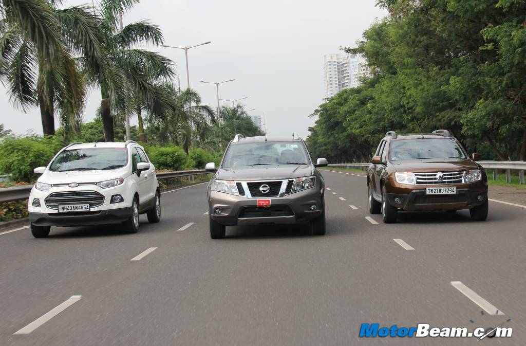 Duster vs EcoSport Terrano Review