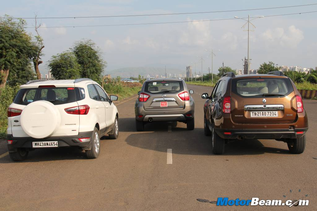 Duster vs EcoSport Terrano Shootout