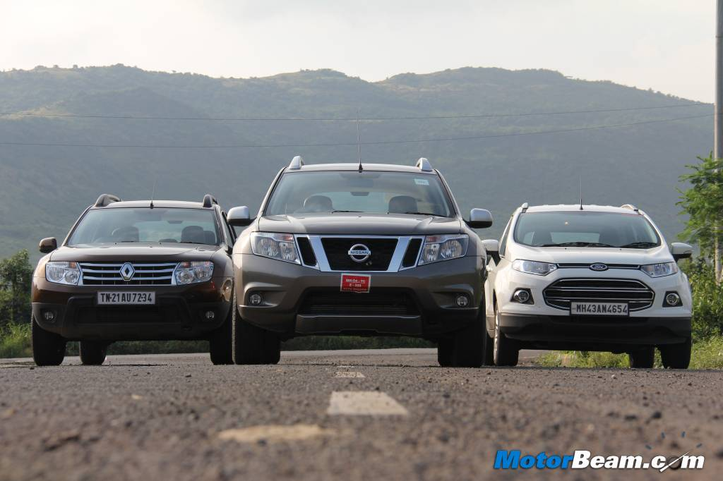Duster vs EcoSport Terrano Test Drive