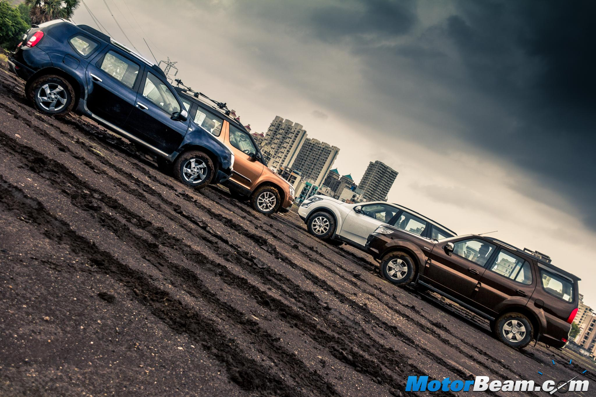 Duster vs Safari vs XUV500 vs Yeti