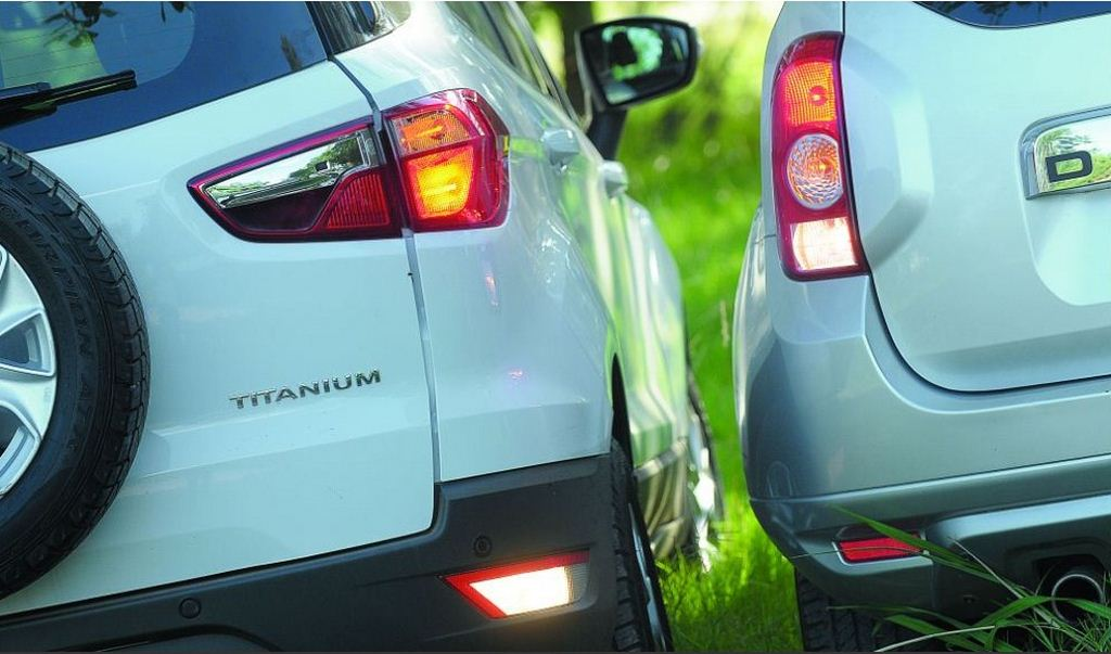 EcoSport vs Duster tail lamps