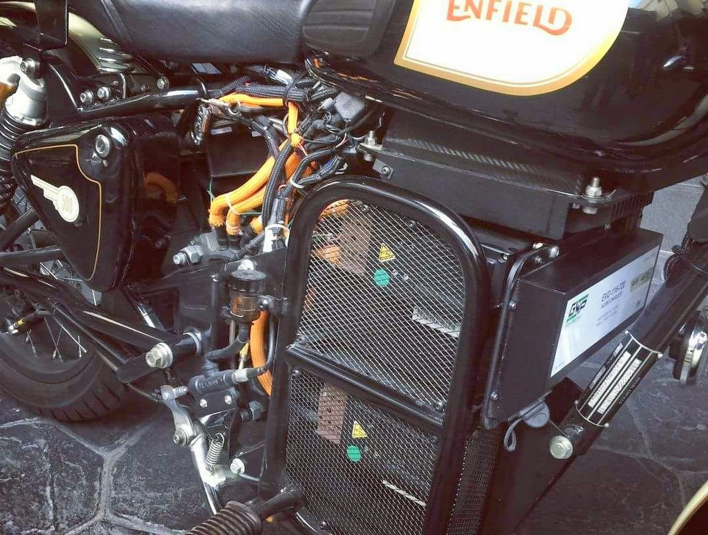 Electric Royal Enfield Bike Chassis