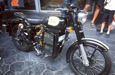 Electric Royal Enfield Bike Spotted In Thailand