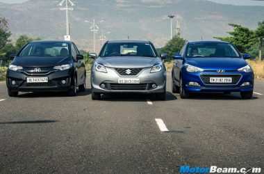 Hyundai Elite i20 vs Maruti Baleno vs Honda Jazz – Shootout