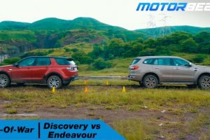 Endeavour vs Discovery Sport Tug Of War