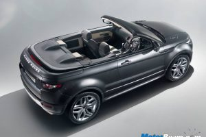 Evoque Roof Down Interiors