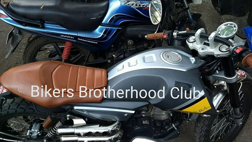 FB Mondial 125 Spotted In India