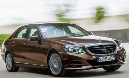 Facelifted 2013 Mercedes Benz E-Class Front