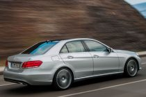 Facelifted 2013 Mercedes Benz E-Class Rear