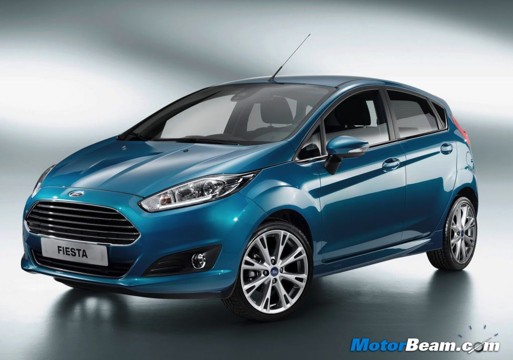 Facelifted Ford Fiesta