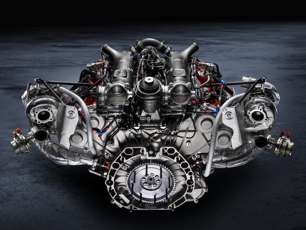 3.9-Litre Twin-Turbo Engine