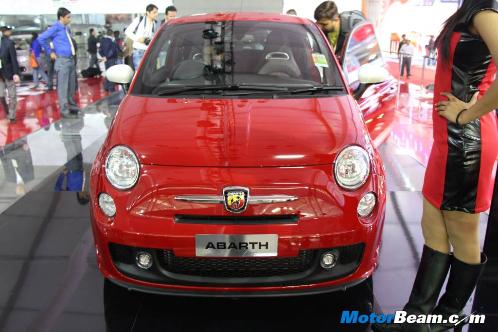 Fiat 500 Abarth India Launch