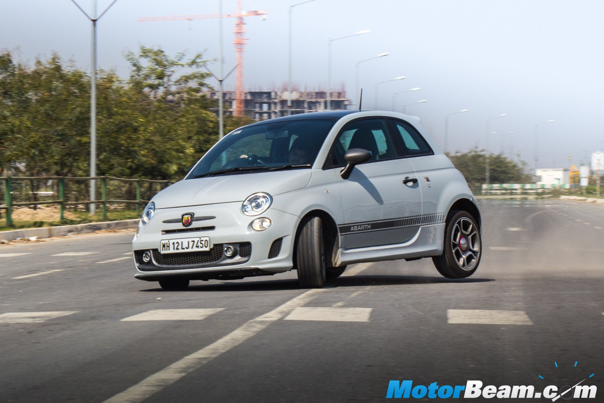 fiat abarth 595 competizione review test drive | motorbeam