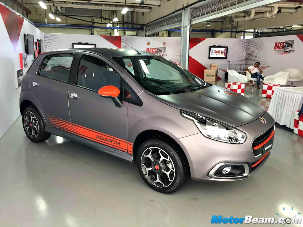fiat punto abarth unveiled in india, produces 145 bhp