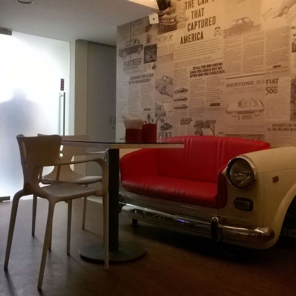 Fiat Caffe Car O Bar Opened In Bangalore Is Super Cool
