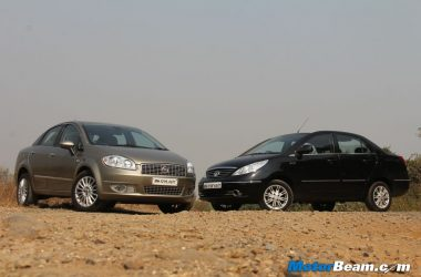 Fiat Linea vs Tata Manza Review