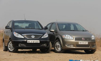 Fiat Linea vs Tata Manza Road Test