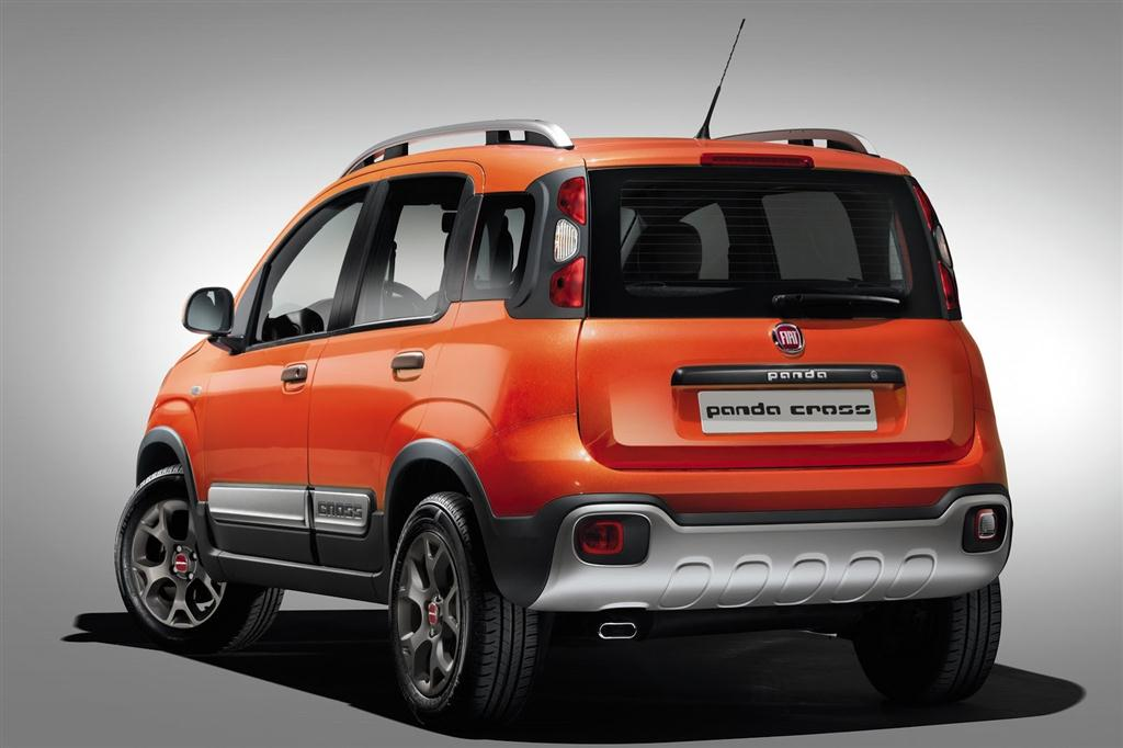 Fiat Panda Cross Rear