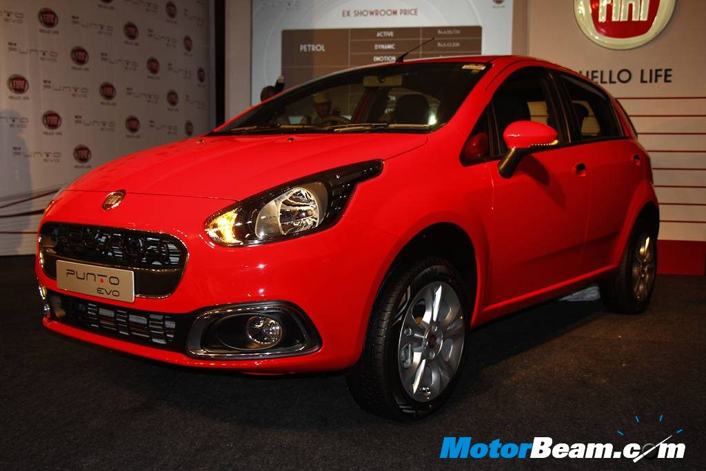 2014 Fiat Punto Evo Launched In India Priced From Rs 4 56 Lakhs